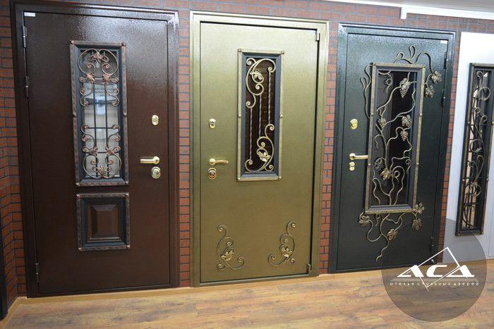 металлическая дверь с окном купить